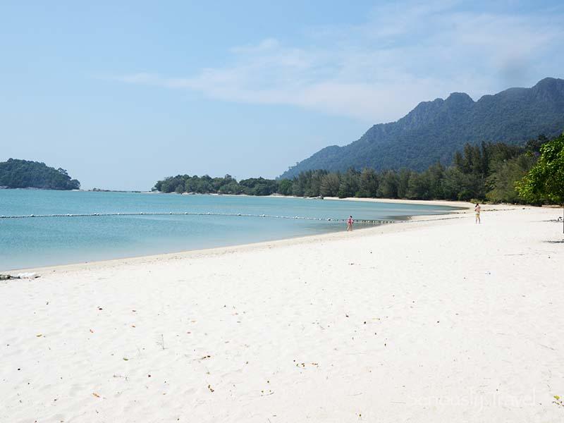 Beach next to Danna