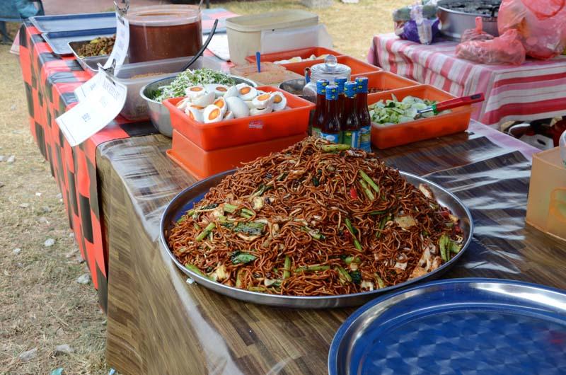 Malaysian Street food (noodles)