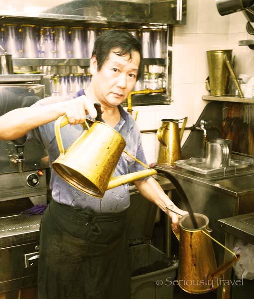 Singapore's Dying Art of the Kopi Sock Master