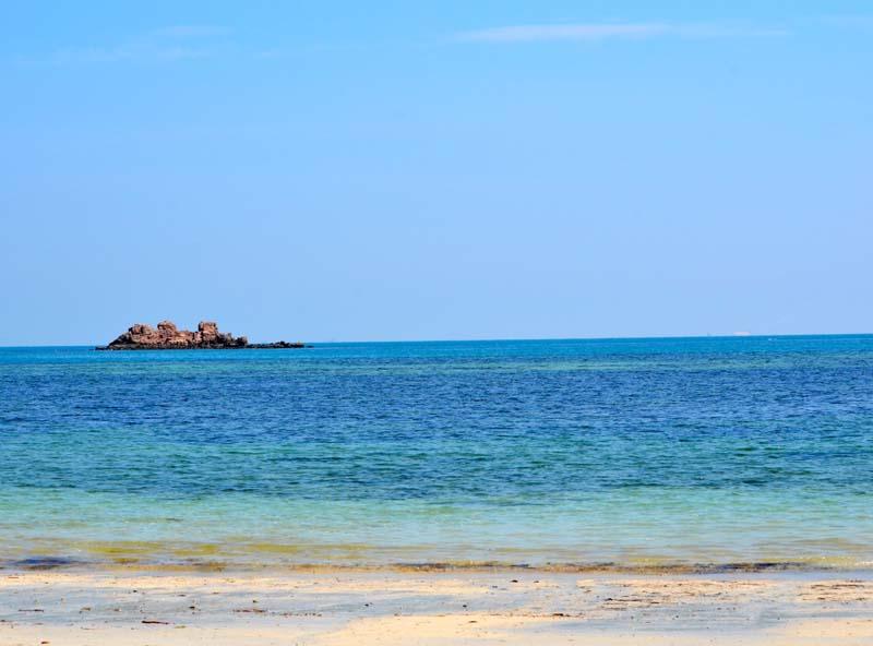 View from Beach at Nirwana