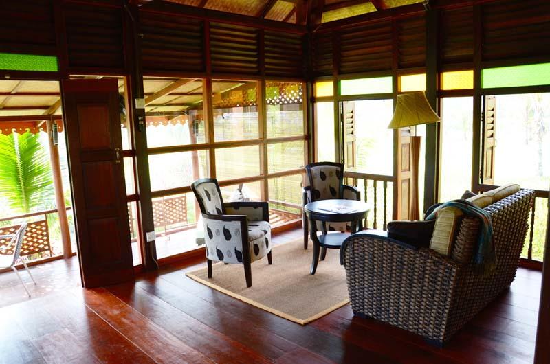 Sitting area in Garden House