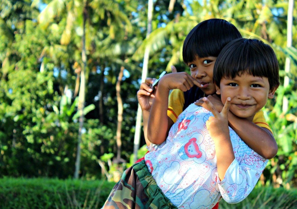 Little Girls in Indonesia