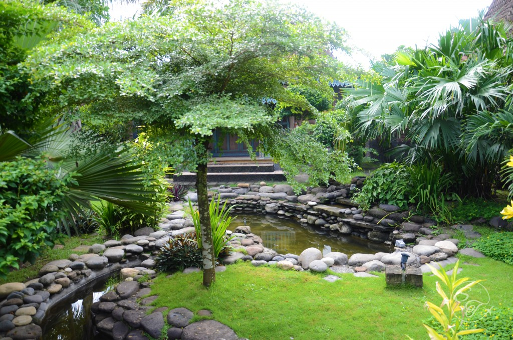 Balemong's beautiful landscaping