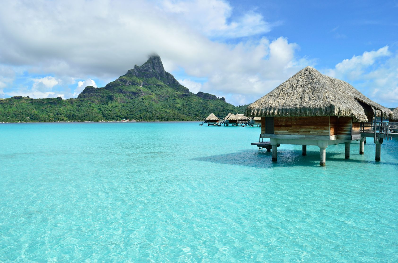 The Worlds Best Overwater Bungalows