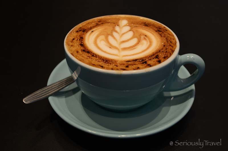 Capuccino at the department