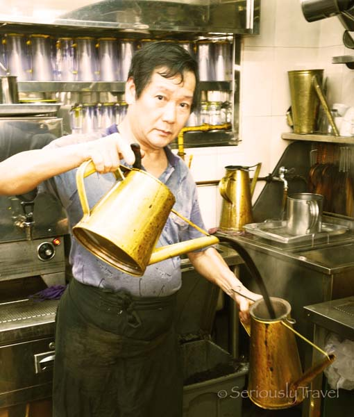 Singapore's Dying Art of the Kopi Sock Master