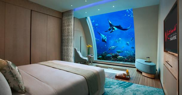 Underwater rooms Sentosa