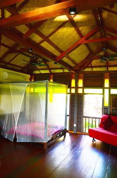 Bed area in Garden House