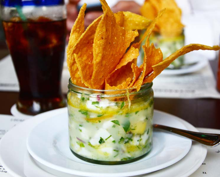 Mango and Snapper Ceviche