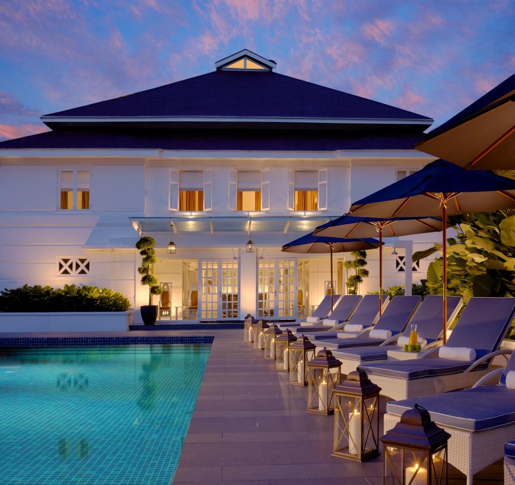 The Majestic Spa Pool Photo Credit: YTL Hotels