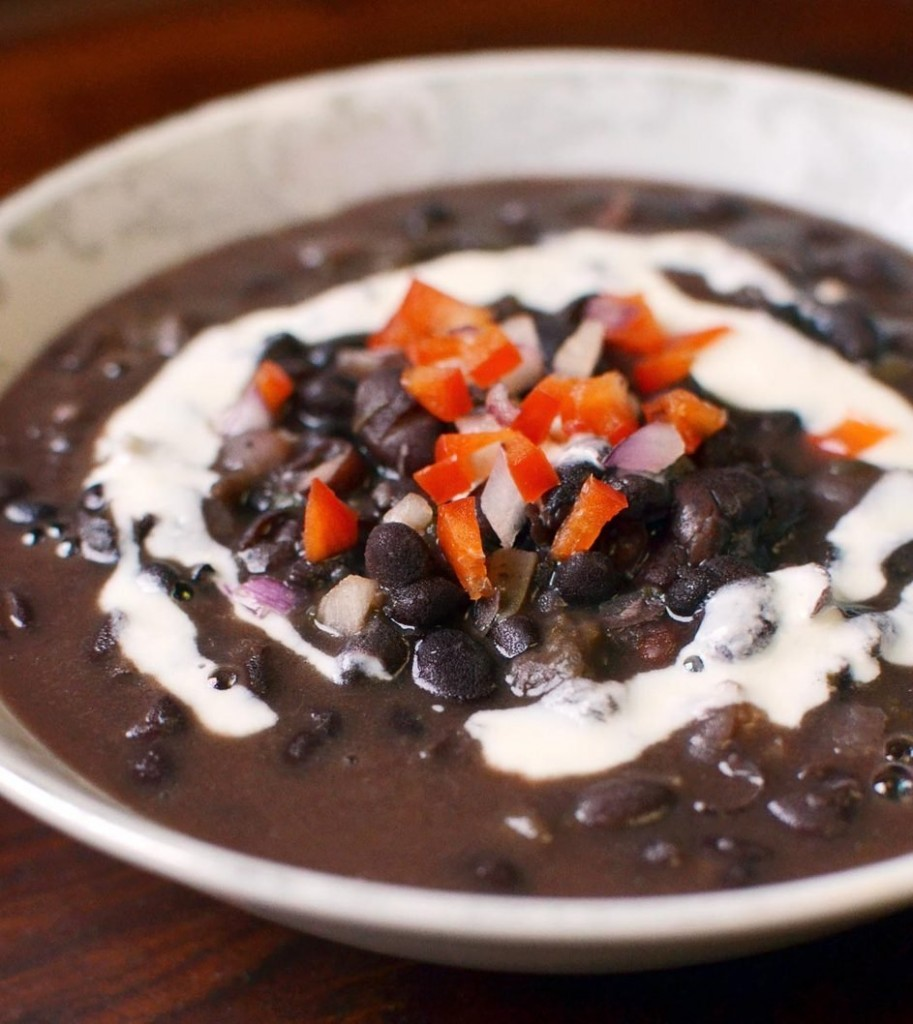 Cuban Black Bean Soup Recipe