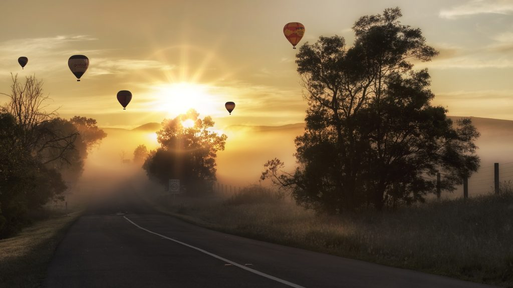 Snapshot Monday ~ Hot Air Balloons