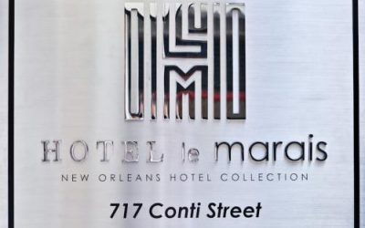 Boutique At Its Finest At Hotel Le Marais of the New Orleans Hotel Collection